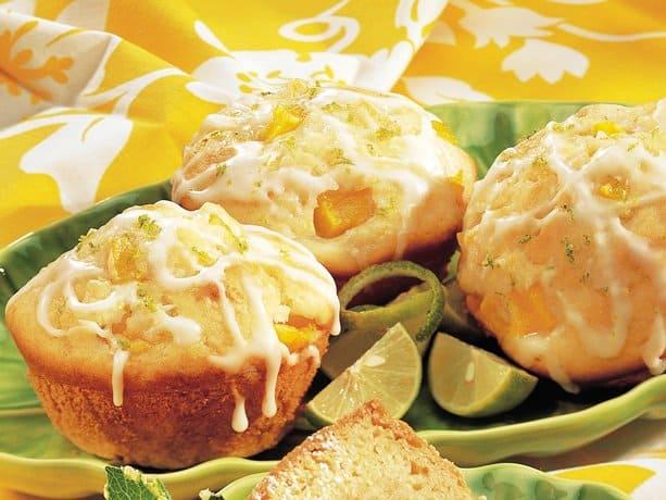 Citrus Mango Muffins