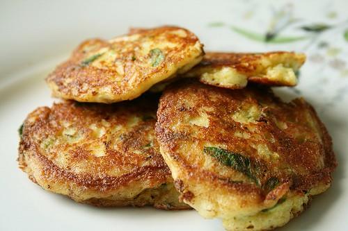 Quick Oats Sweet Potato Pancakes